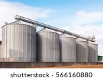 Agricultural Silos. Building...