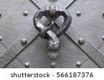 Antique Metal Door Knocker In...