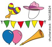 Party And Carnival Clip Art Se...