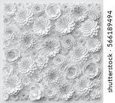 3d render  digital illustration ... | Shutterstock . vector #566189494