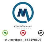 m letter logo real estate  ... | Shutterstock .eps vector #566198809