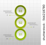 circle timeline template for... | Shutterstock .eps vector #566218780