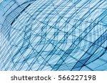 modular transparent structure... | Shutterstock . vector #566227198