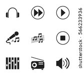 set of 9 song icons. includes...