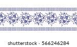 seamless vector hand drawn... | Shutterstock .eps vector #566246284