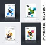 business vector. brochure... | Shutterstock .eps vector #566251834