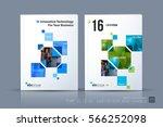 business vector. brochure... | Shutterstock .eps vector #566252098