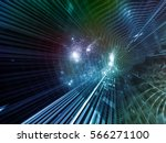 fabric of space series.... | Shutterstock . vector #566271100