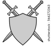 Crossed Swords And Shield...