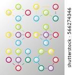 infographics sequence data. set ... | Shutterstock .eps vector #566274346