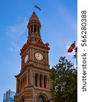 Clock Tower Of Sydney Town Hal...