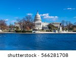 united states capitol building  ... | Shutterstock . vector #566281708