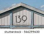 Closeup Of Beach Hut Number 139 ...