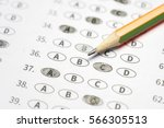 optical form of standardized... | Shutterstock . vector #566305513