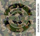 university degree camouflaged... | Shutterstock .eps vector #566318134