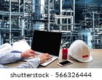 engineering industry concept... | Shutterstock . vector #566326444