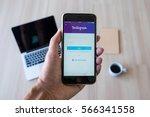 chiang mai  thailand   jan 28 ... | Shutterstock . vector #566341558