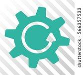 cogwheel rotation direction...   Shutterstock .eps vector #566357533