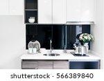 kitchen interior | Shutterstock . vector #566389840