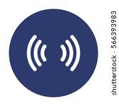 wifi icon vector flat design... | Shutterstock .eps vector #566393983