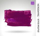 brush stroke and texture.... | Shutterstock .eps vector #566400634