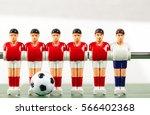 foosball table soccer .sport... | Shutterstock . vector #566402368