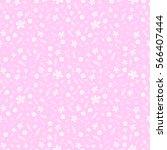 seamless non directional floral ... | Shutterstock .eps vector #566407444