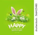 vector background for easter.... | Shutterstock .eps vector #566425480