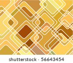 abstract geometric mosaic... | Shutterstock .eps vector #56643454