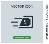 fast money vector icon