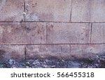 dirty street wall  concrete... | Shutterstock . vector #566455318