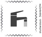 faucet vector icon. tap sign....   Shutterstock .eps vector #566464294