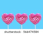 heart candy colorful | Shutterstock . vector #566474584