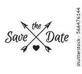 save the date wedding... | Shutterstock .eps vector #566476144