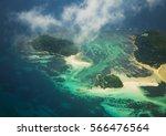 seychelles islands seen from...   Shutterstock . vector #566476564