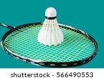 badminton playing court | Shutterstock . vector #566490553