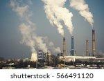 industrial chimney urban...