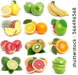fresh fruit | Shutterstock . vector #566496568