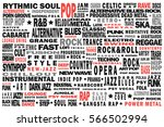 musical poster concept. all... | Shutterstock .eps vector #566502994