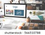 logo be creative inspiration... | Shutterstock . vector #566510788