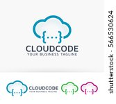 cloud code  coding  developer ... | Shutterstock .eps vector #566530624