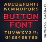 font  vector illustration. a... | Shutterstock .eps vector #566536714
