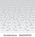 abstract geometric black and... | Shutterstock .eps vector #566544934