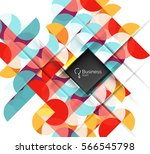 circlesabstract background.... | Shutterstock .eps vector #566545798