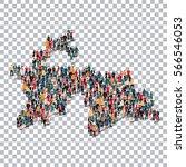 people map country tajikistan... | Shutterstock .eps vector #566546053