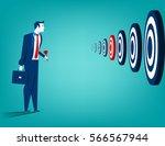 businessman and multiple...   Shutterstock .eps vector #566567944