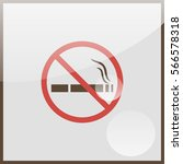 no smoking sign. | Shutterstock .eps vector #566578318