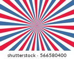 Sunburst Background  Blue Red...