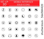 mobile interface solid...
