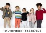 Group Of Kids Toothbrush...